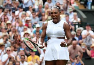 El sufrimiento de Serena Williams para alcanzar las Semifinales del Abierto de Wimbledon