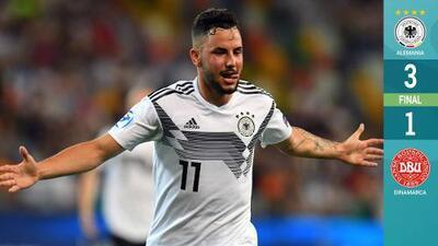 Alemania debuta con un sólido triunfo ante Dinamarca en el Europeo Sub-21