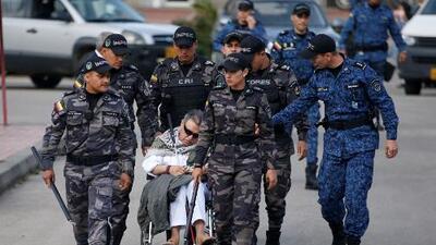 El caso del exlíder guerrillero que arrestaron segundos después de ser liberado de prisión