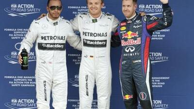 Tercera Pole consecutiva para Mercedes: Nico Rosberg primero, Lewis segundo