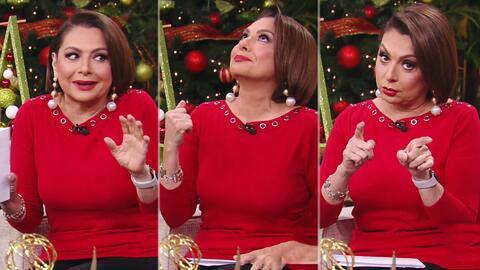 La atenta súplica de María Antonieta Collins al recordar los tres peores regalos reciclados que recibió en Navidad