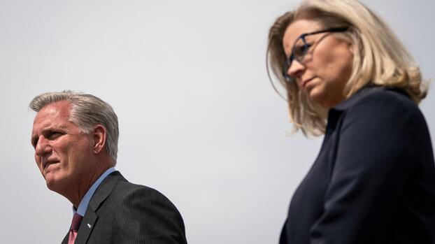 El 'precio' de condenar a Trump: parte del liderazgo republicano enfrenta la defenestración en su propio partido