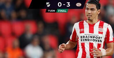 PSV vence con Erick Gutiérrez en la cancha al Verl de Alemania