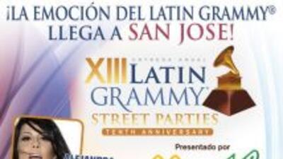 Únete a la gran fiesta callejera de los Grammys Latinos en San José