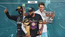 Domingo para destacar, se igualaron marcas en NBA, F1 y Grand Slams