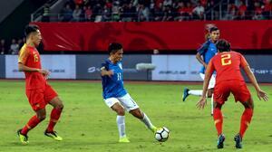 """""""Messi"""" de India superó a Messi de Argentina como segundo máximo goleador internacional"""