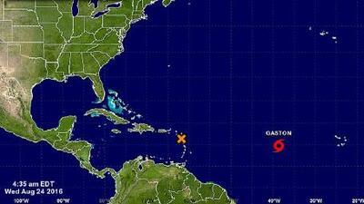 La tormenta tropical Gastón toma fuerza y esperan que se convierta en huracán este miércoles
