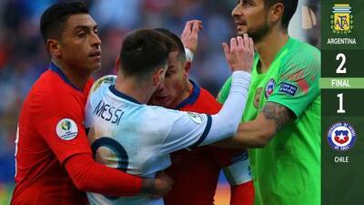 Esto es Sudamérica: Roja a Messi en caliente duelo Argentina-Chile en Copa América