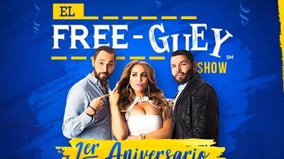 Primer aniversario de El Free-guey show