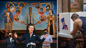 Latinos juegan un papel clave en la posible elección revocatoria del gobernador Gavin Newsom