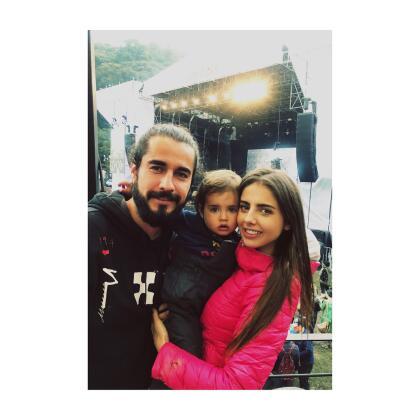 Renaud, quien había comenzado su relación con Alvarado en 2016, concluyó la relación con el papá de Marcelo en los mejores términos.
