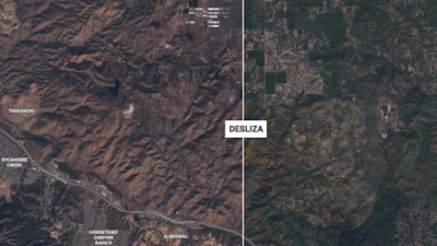 Fotos interactivas: La impactante transformación de California antes y después de las lluvias
