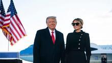 Donald Trump y su esposa Melania se vacunaron contra covid-19 antes de abandonar la Casa Blanca, según reportes