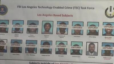 Acusan formalmente a 80 personas sospechosas de participar en hurtos cibernéticos de más de 40 millones de dólares