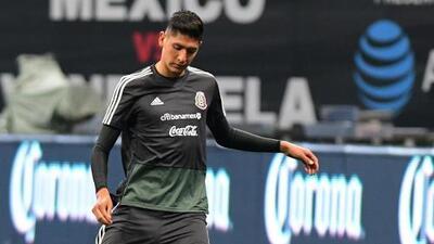 ¡Por fin una buena noticia! Edson Álvarez está totalmente recuperado para el juego contra Cuba