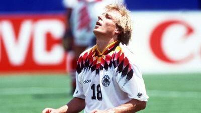 ¡Historia de un fracaso! Jürgen Klinsmann y el recuerdo de la arrogancia alemana en el Mundial de 1994
