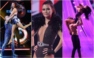 Así fue el paso de Ana Patricia por la pista de Mira Quién Baila