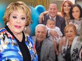 La foto junto a Alejandra y Enrique Guzmán que supuestamente Silvia Pinal compartió desata polémica
