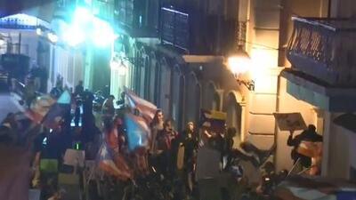 Por séptimo día continúan las manifestaciones pidiendo la renuncia del gobernador