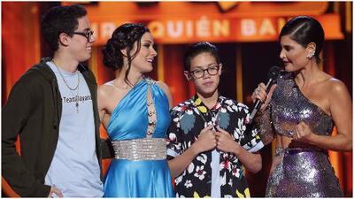Los hijos de Dayanara y Marc Anthony aparecen en Mira Quién Baila para sorprender a su mamá