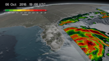 Matthew: un déjà vu de Andrew, la tormenta que aplastó el sur de la Florida hace 24 años
