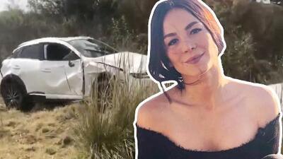 Luz Ramos, la actriz que interpretó a Jenni Rivera, se salvó de morir en aparatoso accidente