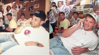 QB prospecto recreó foto histórica de Brett Favre previo al NFL Draft