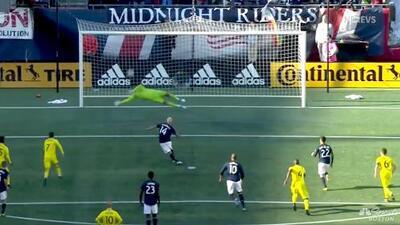 Diego Fagúndez falla un penal y New England Revolution se pierde el gol del empate