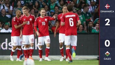 Dinamarca 2-0 Gales | Resumen completo