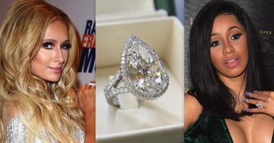 El anillazo de Paris Hilton ya lo tenía esta cantante latina (y su novio pagó 1.5 millones de dólares menos)