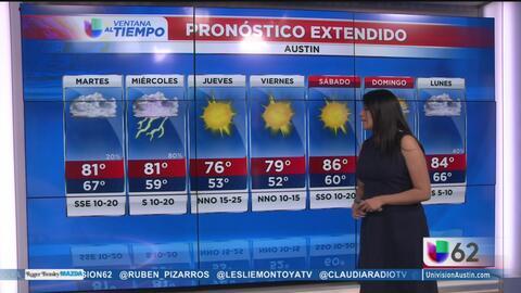 Cielos nublados, el pronóstico para el martes en Austin