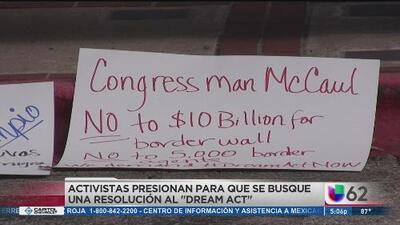 Protestan por una solución para Dream Act