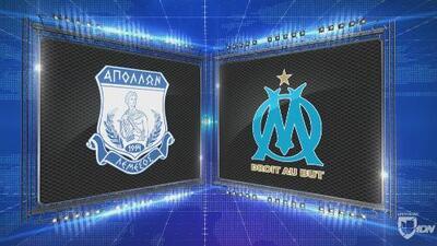Apollon 2-2 Marsella - GOLES Y RESUMEN - Grupo H UEFA Europa League