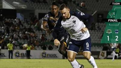 Monterrey gana a Cafetaleros en duelo pendiente de Copa MX