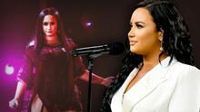 """Le dejaron daño cerebral, pero Demi Lovato cree que las drogas le """"salvaron la vida varias veces"""""""