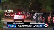 En Un Minuto Houston: Sospechosos vandalizaron una veintena de vehículos en un vecindario al oeste de Houston