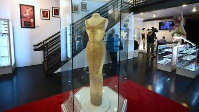 El vestido con el que Marilyn Monroe cantó 'Cumpleaños Feliz' a JFK se ha vendido por 4.8 millones de dólares