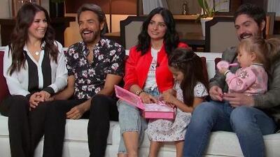 Junto a su gran familia, Eugenio presentó su nuevo reality 'De viaje con los Derbez' (Entrevista completa)