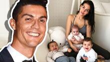 Los bebés de Cristiano Ronaldo derriten a sus fans con estos tiernos besos