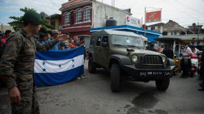 EEUU anuncia suspensión parcial de ayuda militar a Guatemala por mal uso de vehículos