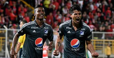 Atlético Nacional y Millonarios se quedan con los clásicos de Medellín y Bogotá