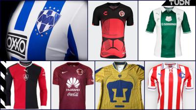 Las camisetas conmemorativas de la Liga MX