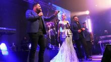 Banda MS regresó a los escenarios en Houston con Natalia Jiménez como invitada especial