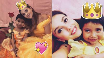 Paulina Goto se suma a las actrices que han cumplido el sueño de niñas con cáncer