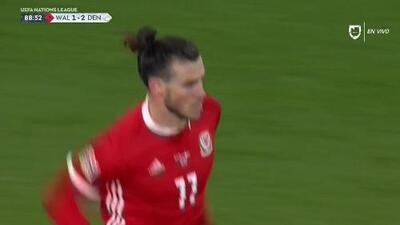 ¡GOOOL! Gareth Bale anota para Wales