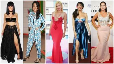 Las cantantes que han transformado sus looks en las alfombras rojas a través de los años