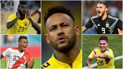 Neymar y otras figuras que no estarán en la Copa América