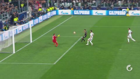¡Neres se perdió el gol que liquidaba a la Juventus!