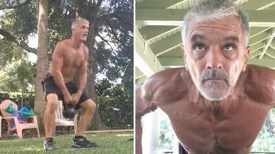 Tiene 54 años y parece un G.I. Joe