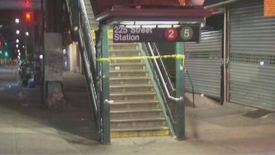 Pánico en estación del metro de Nueva York en El Bronx por un tiroteo entre un hombre y la policía